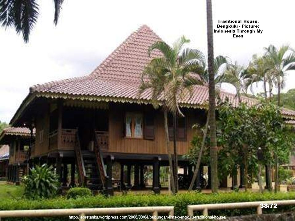 Traditional House, Bengkulu - Picture: Indonesia Through My Eyes