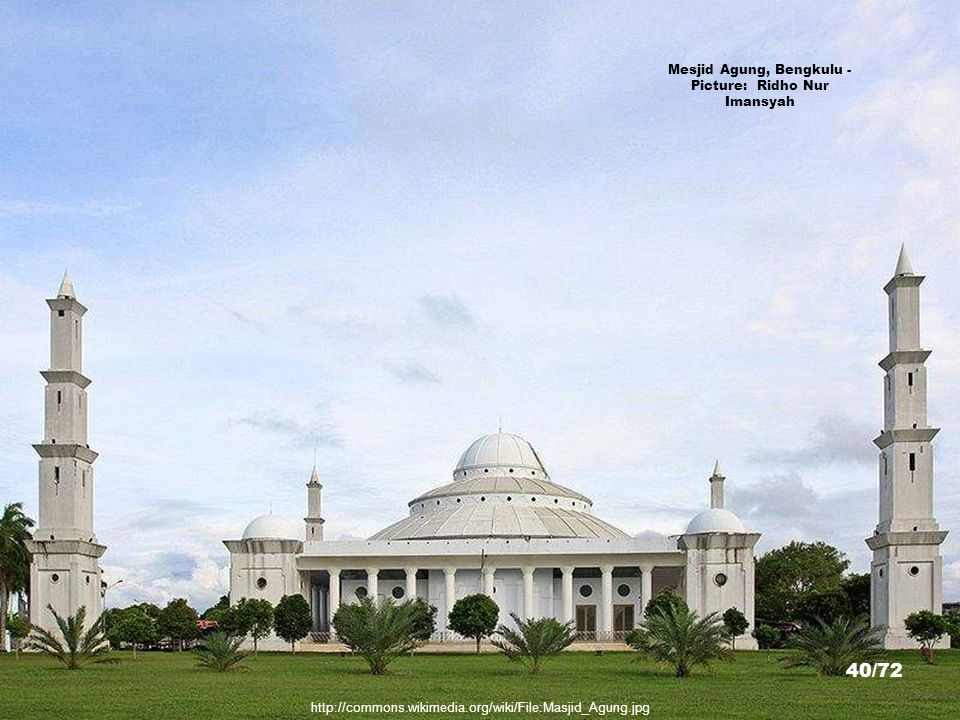 Mesjid Agung, Bengkulu - Picture: Ridho Nur Imansyah