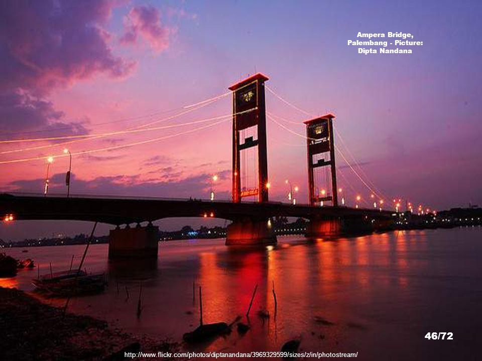 Ampera Bridge, Palembang - Picture: Dipta Nandana