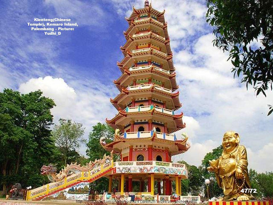 Klenteng(Chinese Temple), Kemaro Island, Palembang - Picture: Yudhi_D