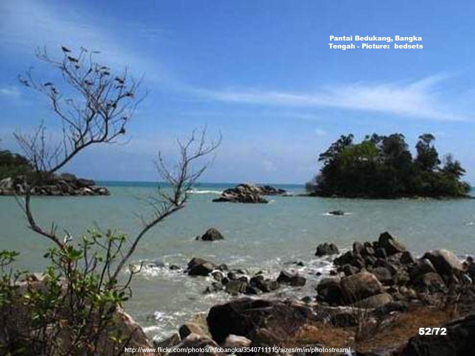 Pantai Bedukang, Bangka Tengah - Picture: bedsets
