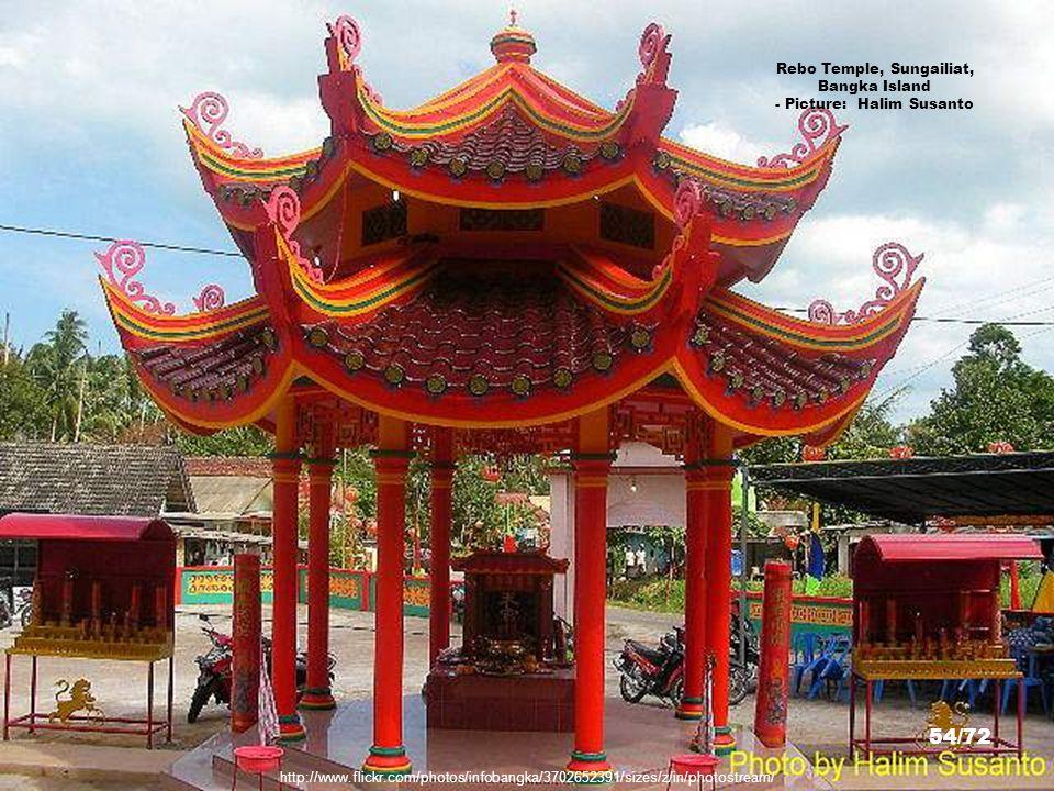 Rebo Temple, Sungailiat, Bangka Island - Picture: Halim Susanto