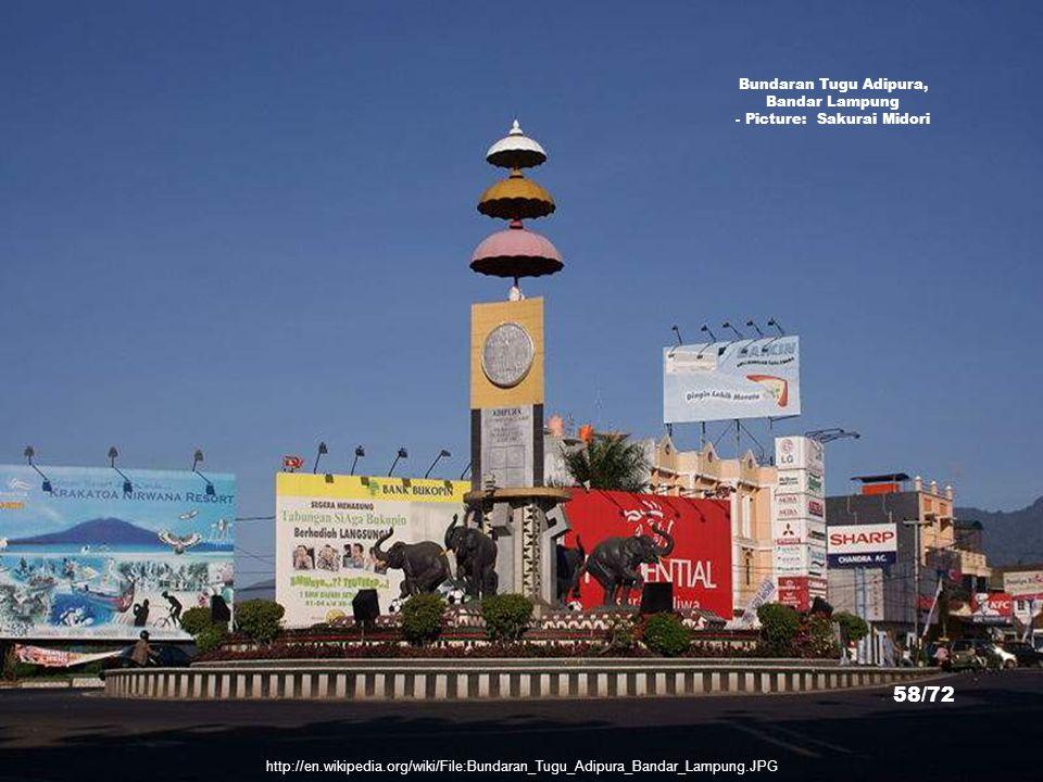 Bundaran Tugu Adipura, Bandar Lampung - Picture: Sakurai Midori