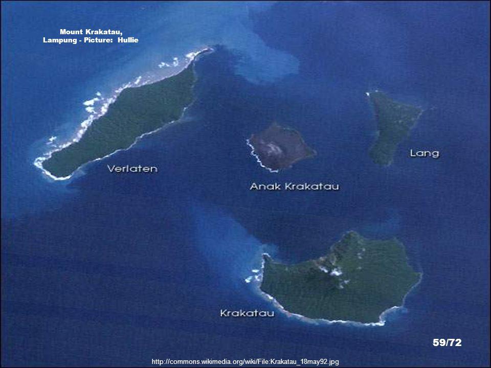 Mount Krakatau, Lampung - Picture: Hullie