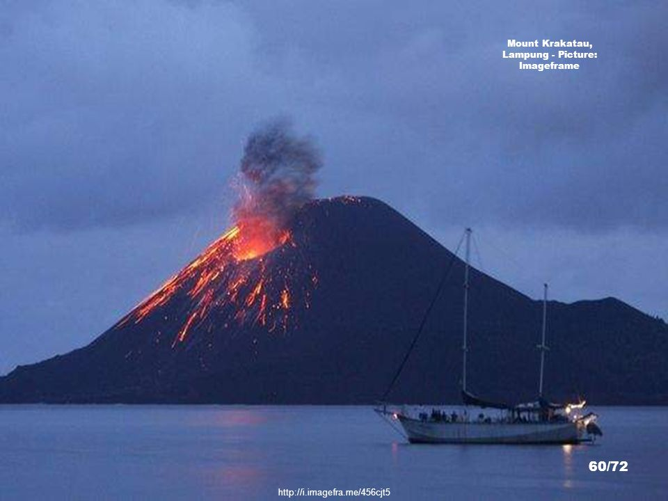 Mount Krakatau, Lampung - Picture: Imageframe