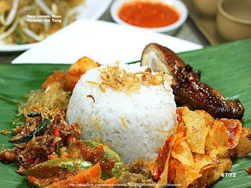 Nasi Lemak, Riau- Picture: Edi Yang