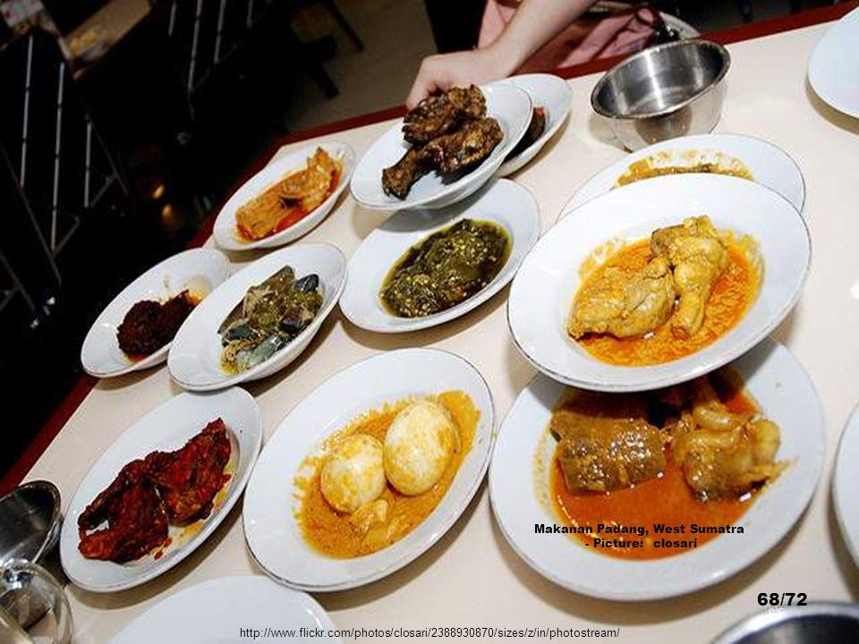 Makanan Padang, West Sumatra
