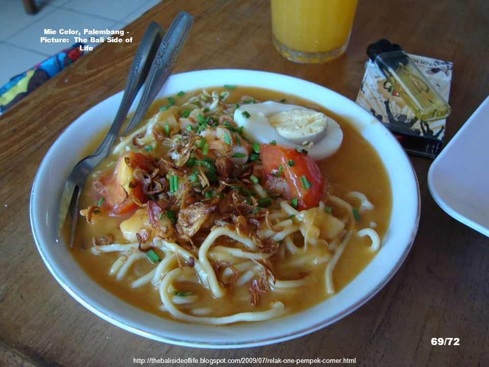 Mie Celor, Palembang - Picture: The Bali Side of Life