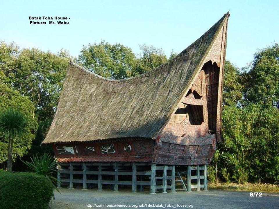 Batak Toba House - Picture: Mr. Wabu