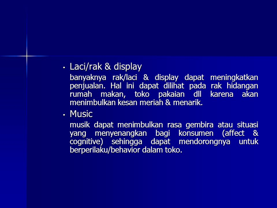 Laci/rak & display Music