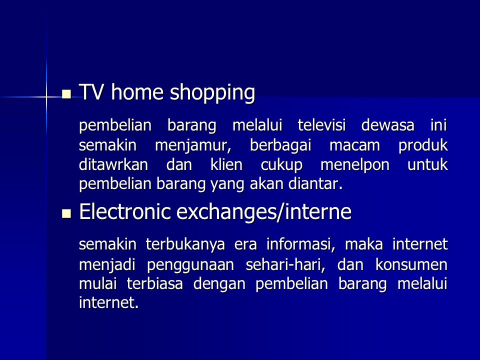 TV home shopping