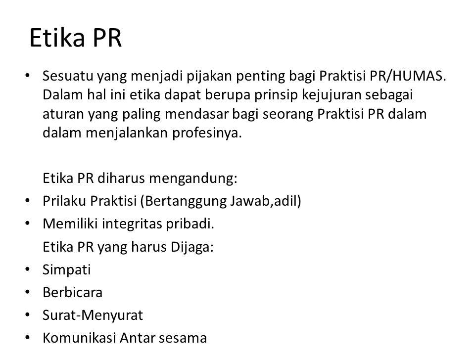 Etika PR