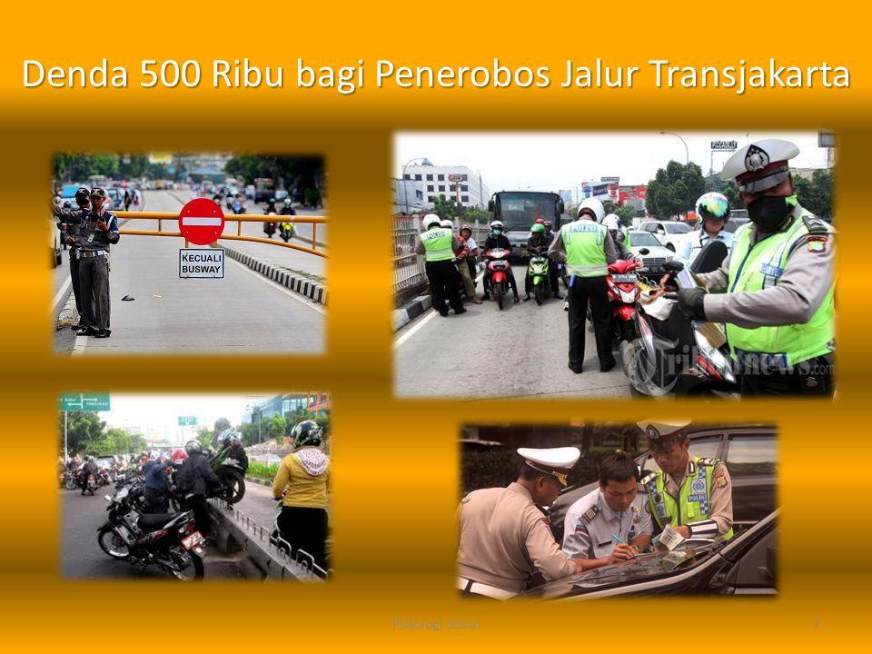 Denda 500 Ribu bagi Penerobos Jalur Transjakarta