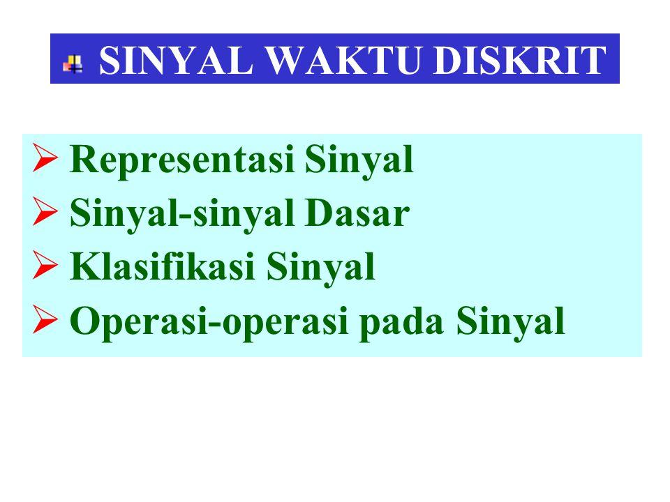 Operasi-operasi pada Sinyal
