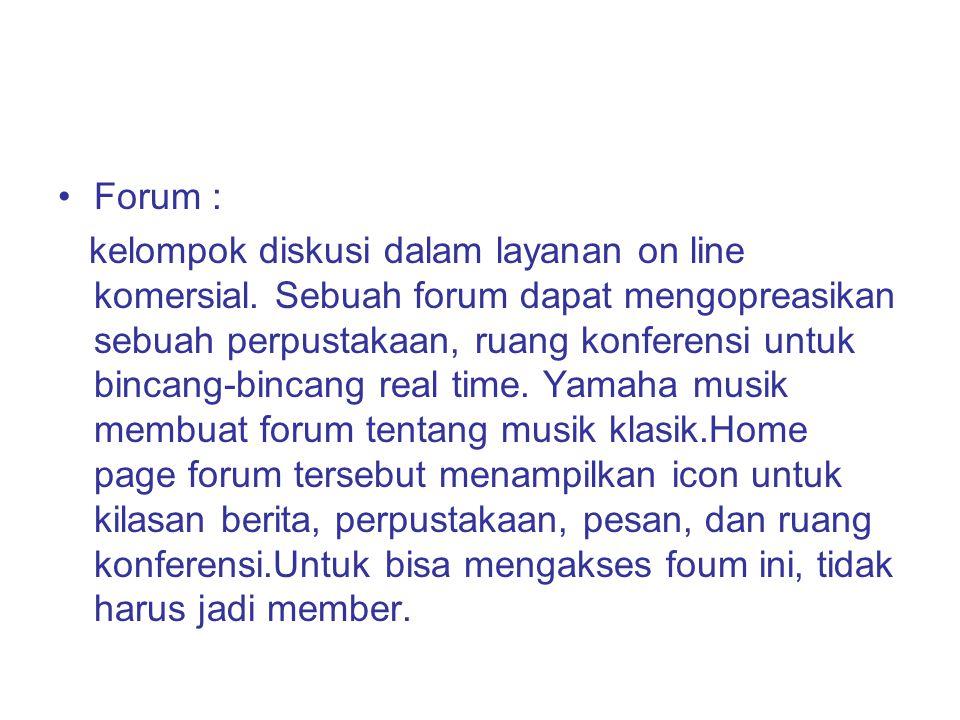 Forum :