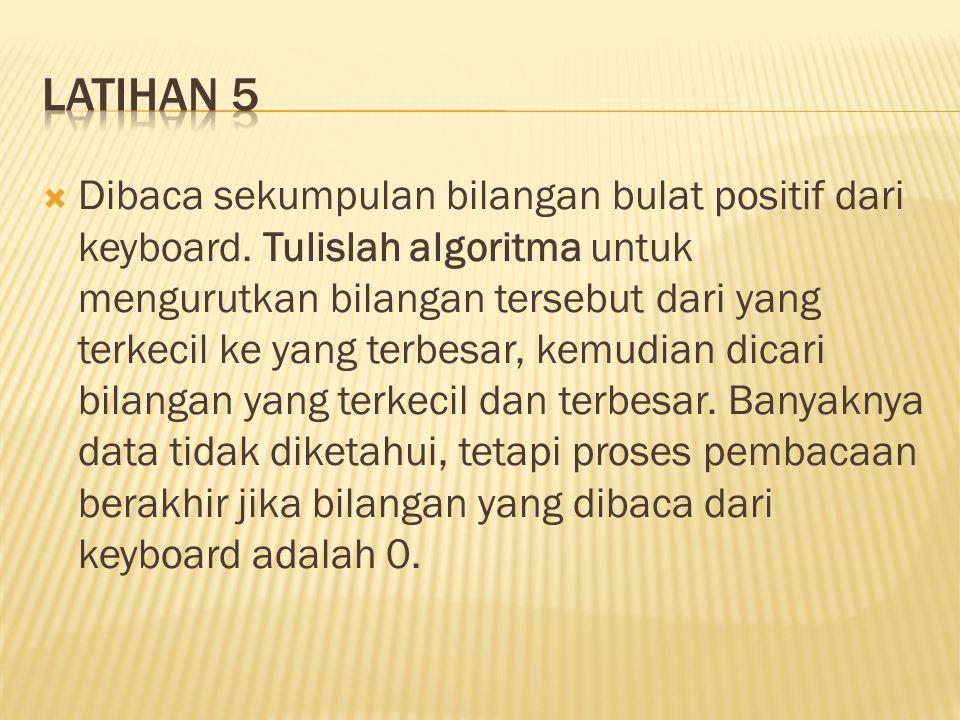 Latihan 5