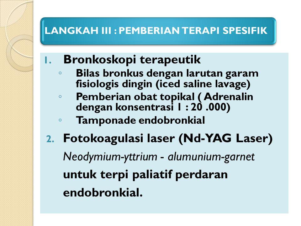 Bronkoskopi terapeutik