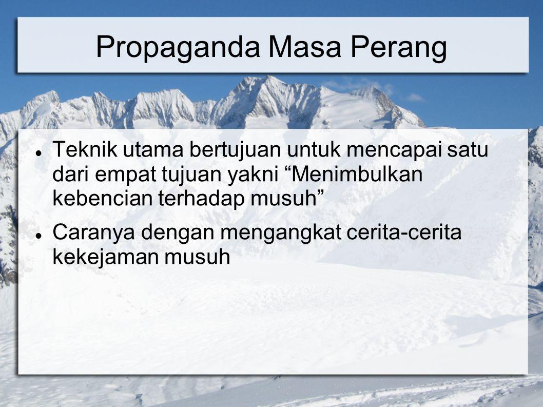 Propaganda Masa Perang