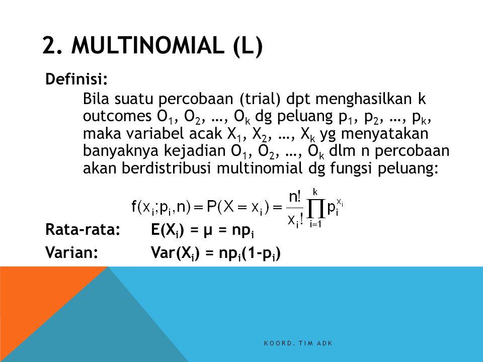 2. MULTINOMIAL (L)