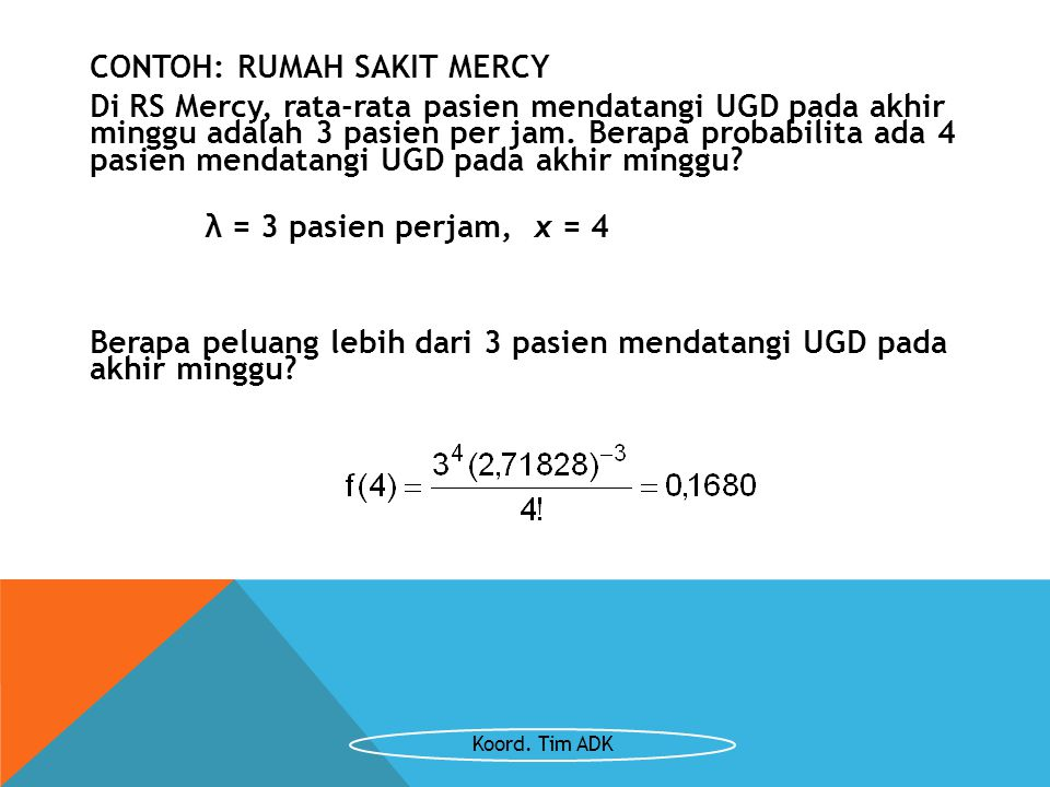 CONTOH: RUMAH SAKIT MERCY