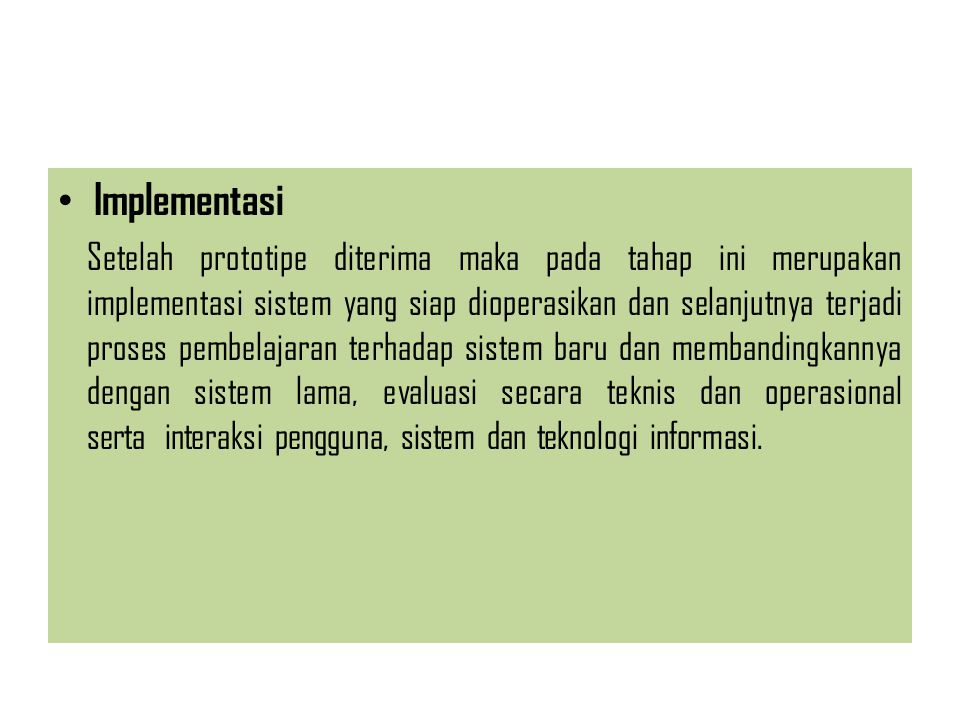 Implementasi