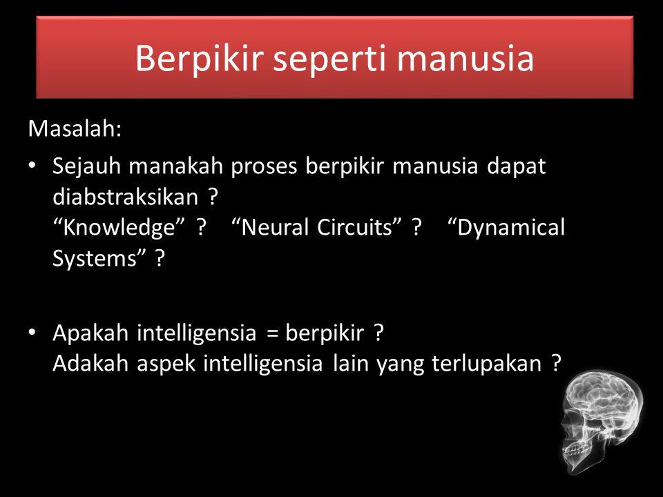 Berpikir seperti manusia