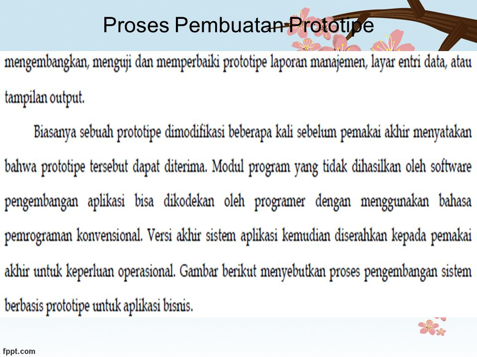 Proses Pembuatan Prototipe