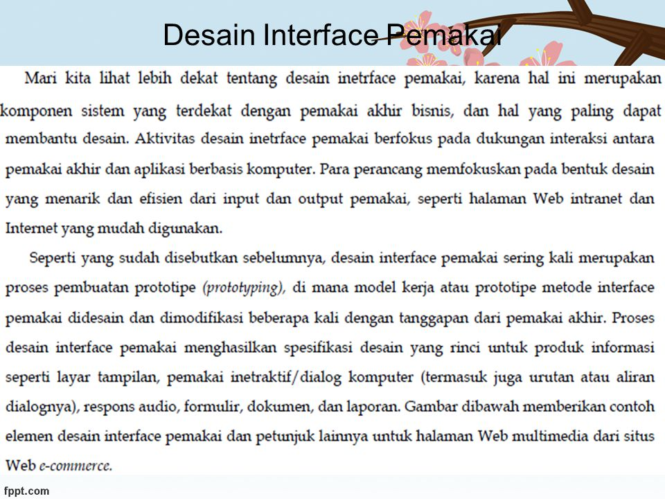 Desain Interface Pemakai