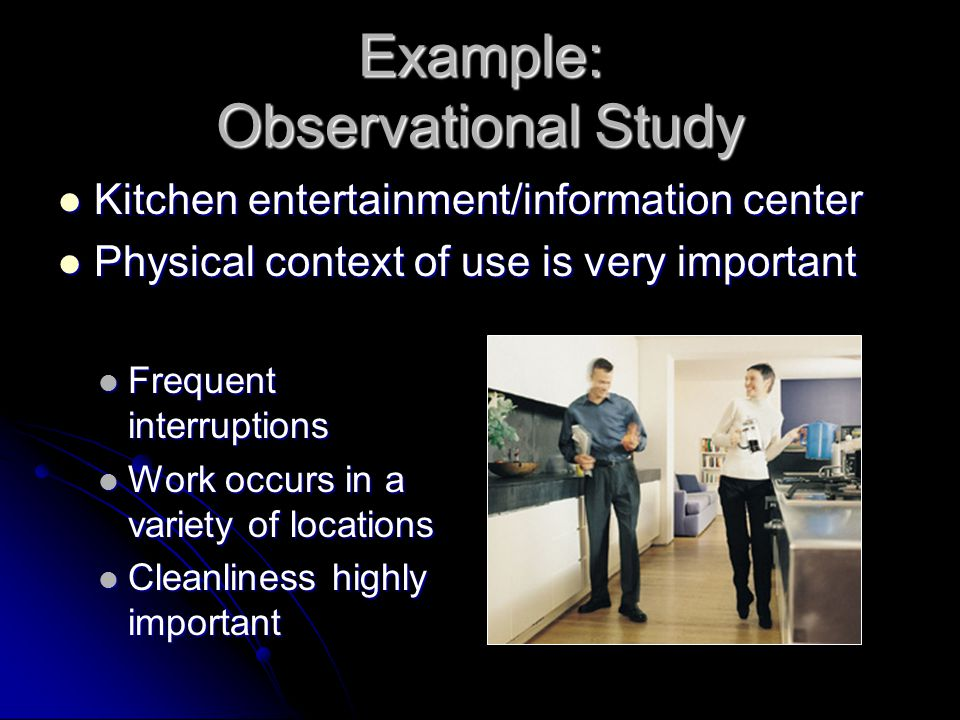 Example: Observational Study