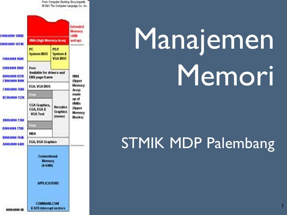 Manajemen Memori STMIK MDP Palembang