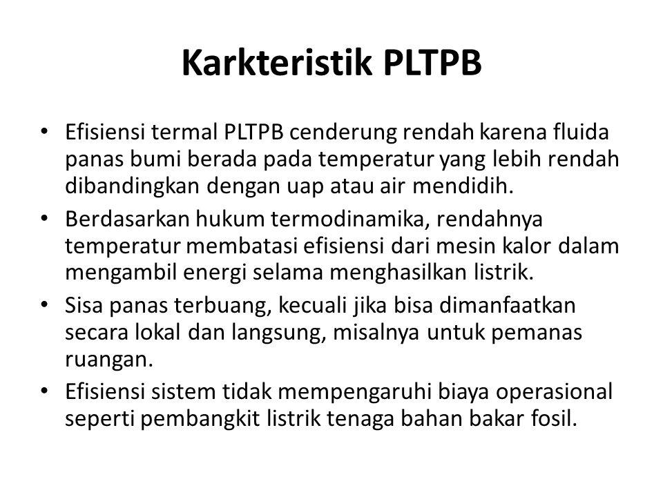 Karkteristik PLTPB