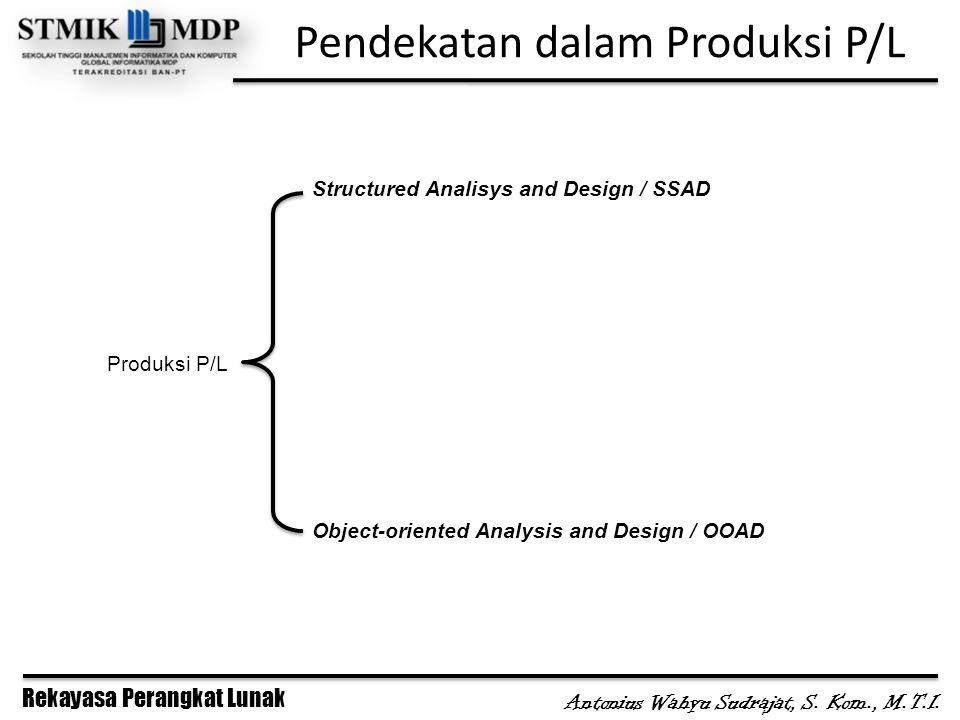 Pendekatan dalam Produksi P/L