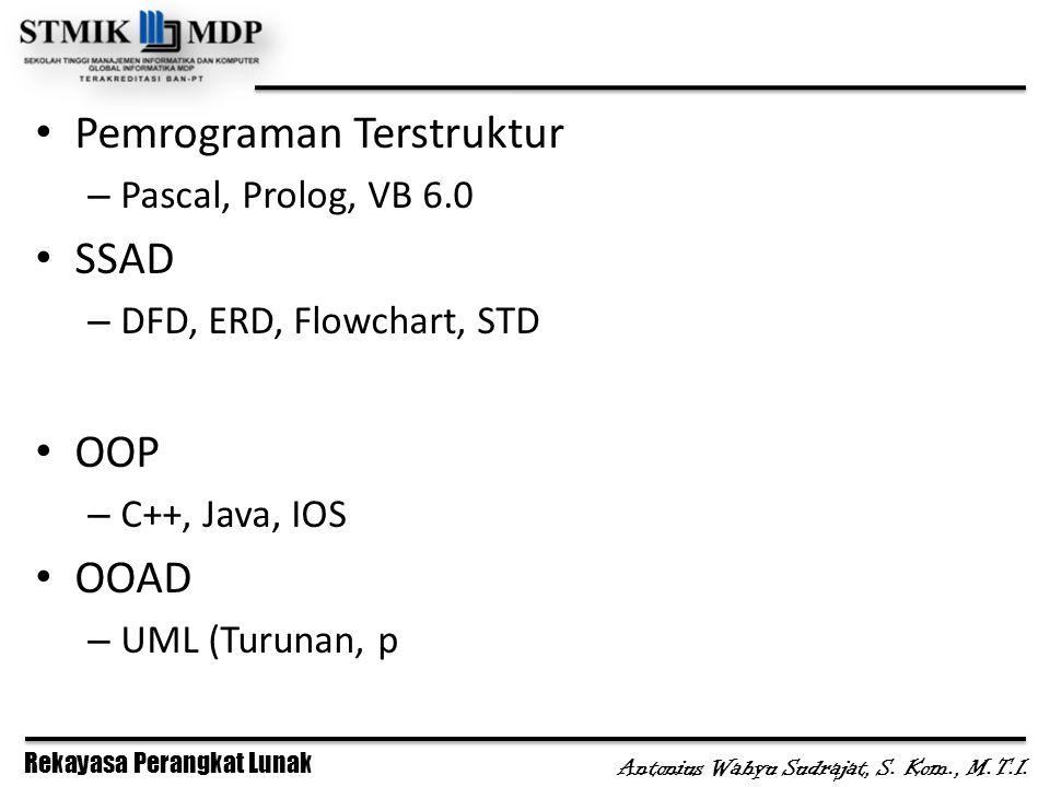 Pemrograman Terstruktur SSAD