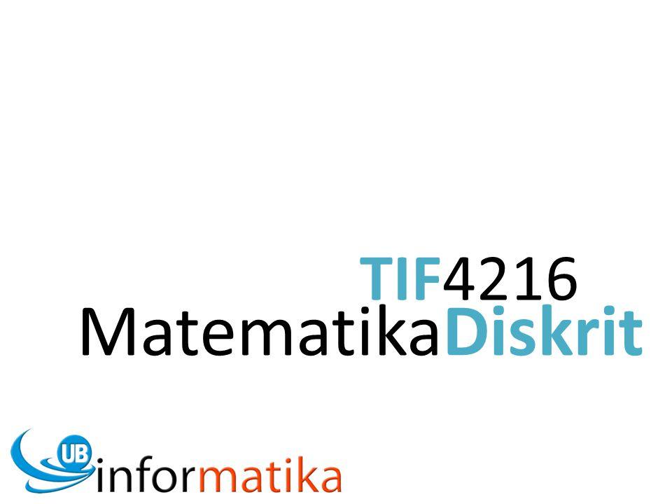 TIF4216 MatematikaDiskrit