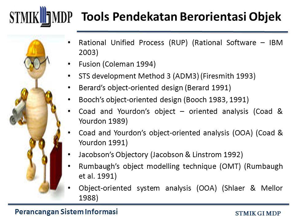 Tools Pendekatan Berorientasi Objek