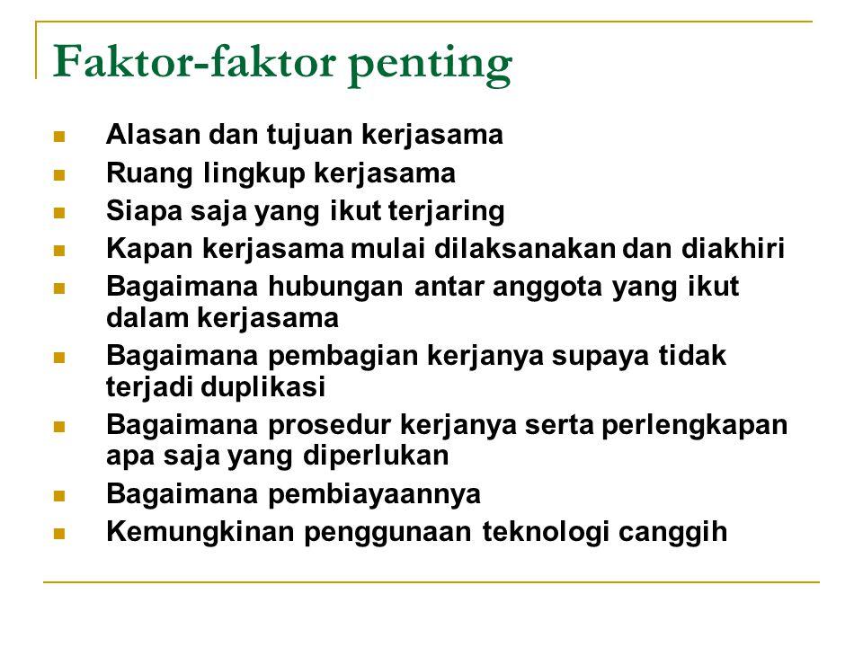 Faktor-faktor penting