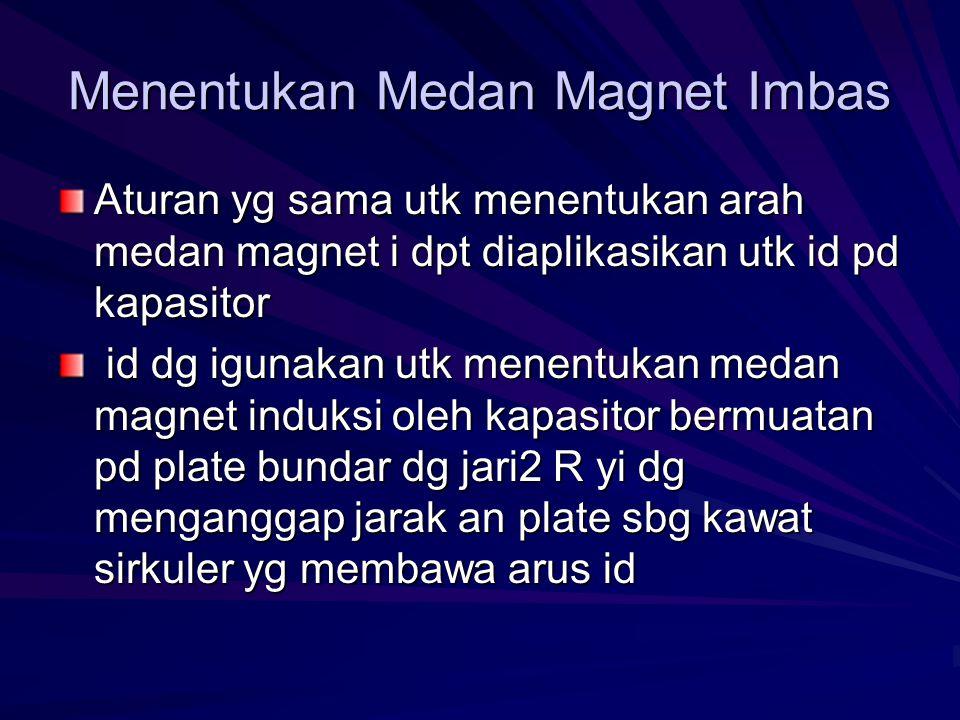 Menentukan Medan Magnet Imbas