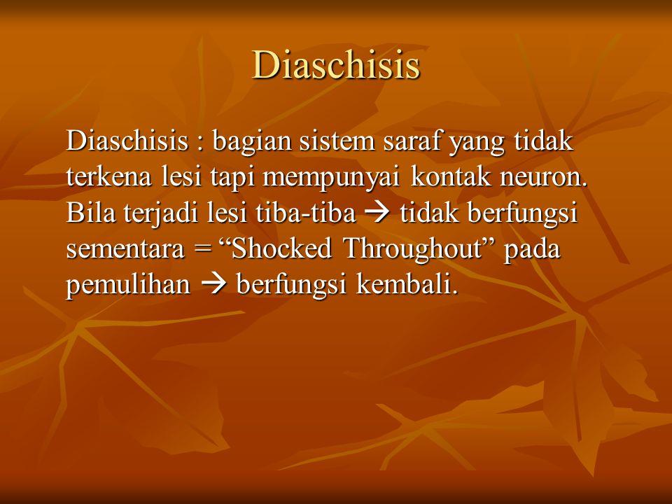Diaschisis