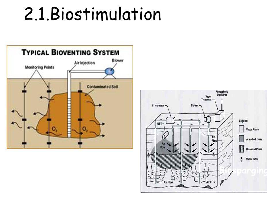 2.1.Biostimulation Biosparging