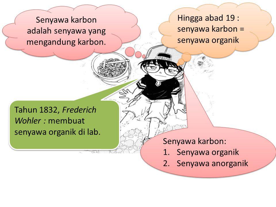 Senyawa karbon adalah senyawa yang mengandung karbon.