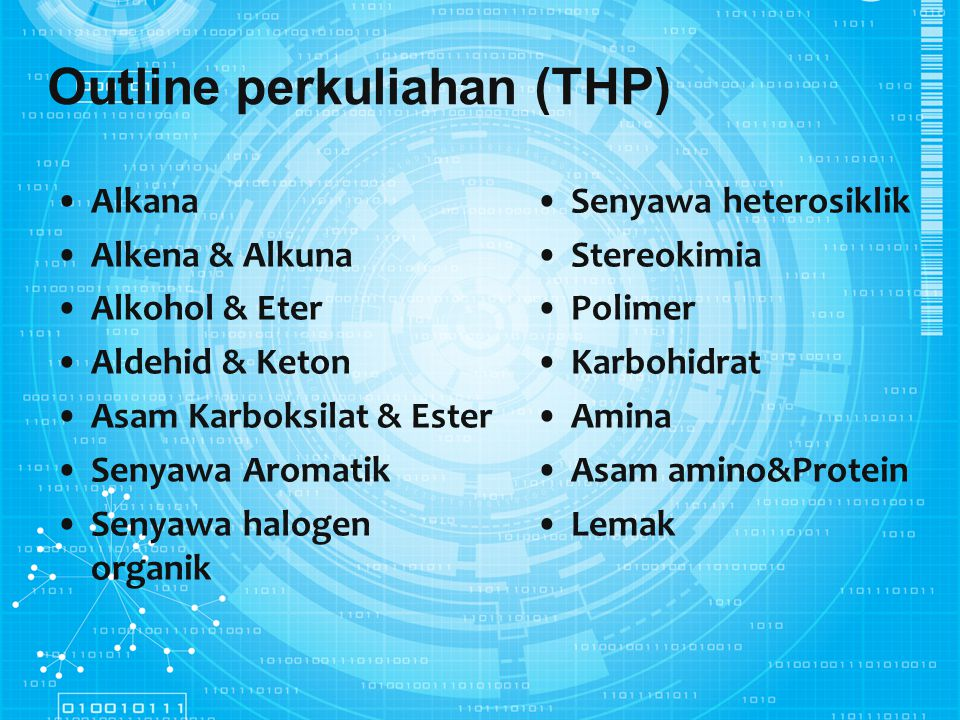 Outline perkuliahan (THP)