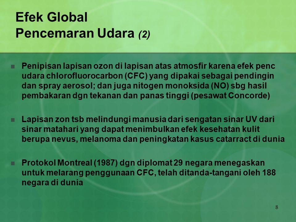 Efek Global Pencemaran Udara (2)
