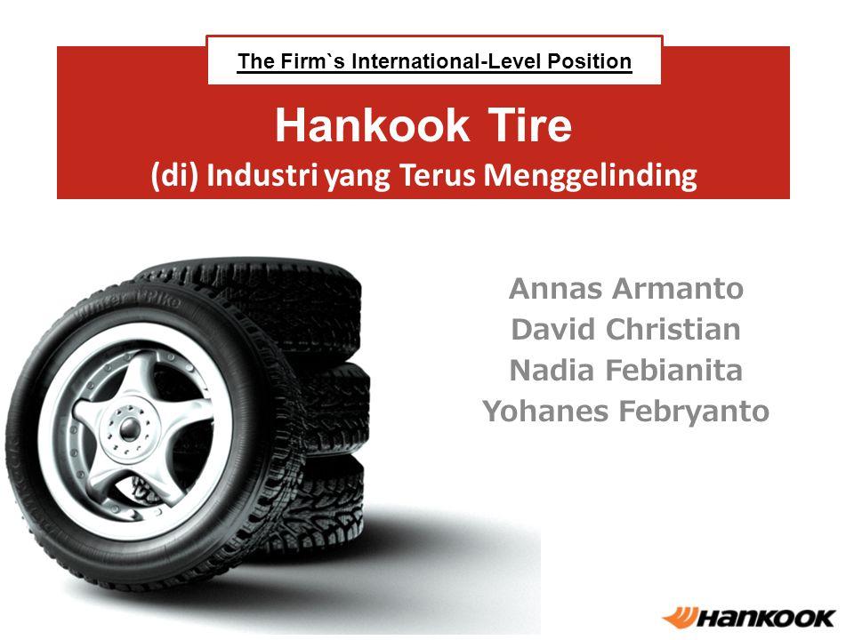 Hankook Tire (di) Industri yang Terus Menggelinding