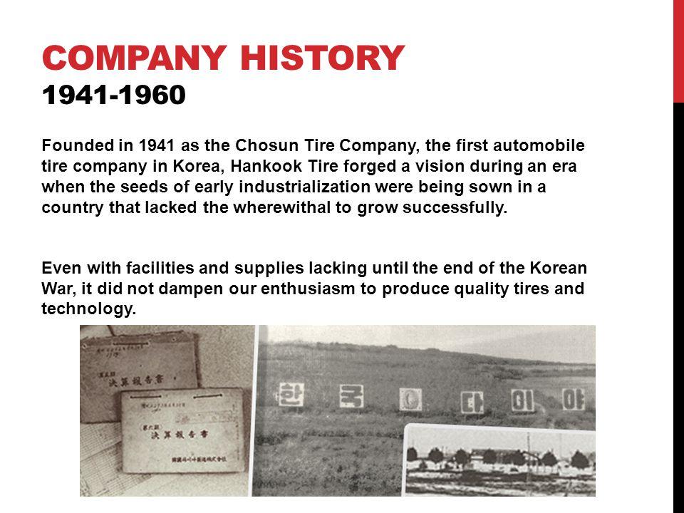 Company history 1941-1960