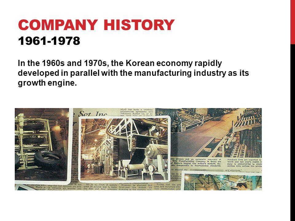 Company history 1961-1978