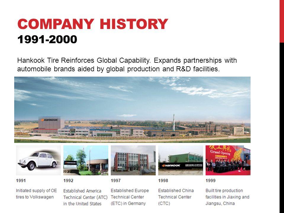 Company history 1991-2000