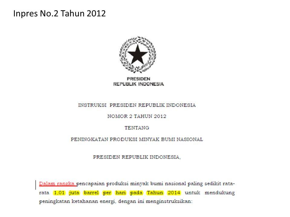 Inpres No.2 Tahun 2012