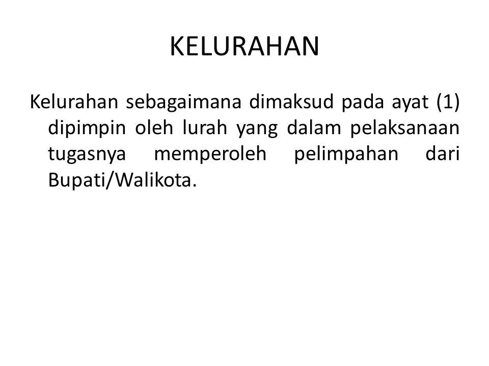 KELURAHAN