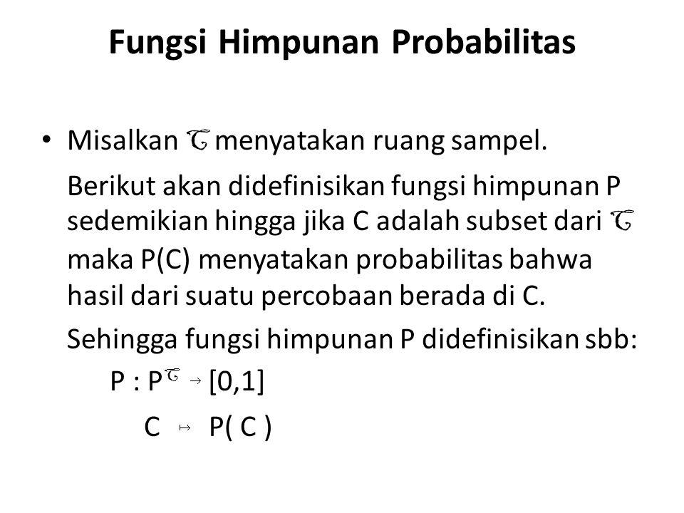 Fungsi Himpunan Probabilitas