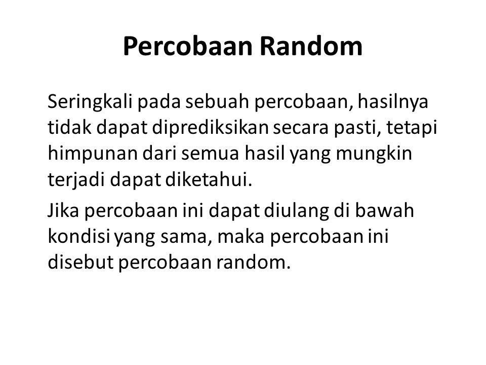 Percobaan Random